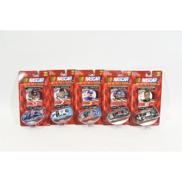 Collectors Series Chase The Race Die Cast Replicas 2003 Edition
