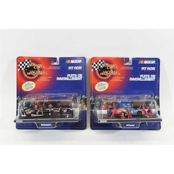 Winner's Circle Pit Crew Series High Performance Die Cast Collectibles on Base