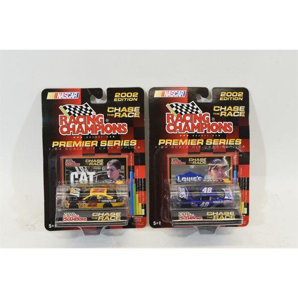 Racing Champions Premier Series 1:64 Scale Die Cast Replica NASCAR 2002 Edition