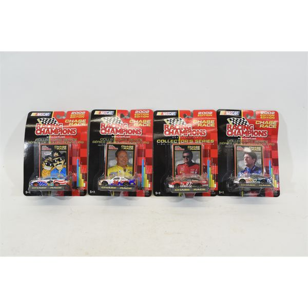 Racing Champions Chase The Race Collectors Series 2002 Edition 1:64 Scale Die Cast Replica NASCAR