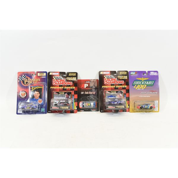 NASCAR 1:64 Scale Die Cast Collectibles in Original Packaging