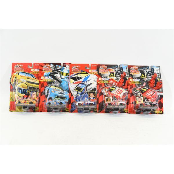 NASCAR 1:64 Scale Die Cast Replicas In Original Packaging