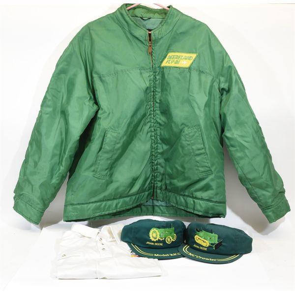 Box Lot John Deere Clothing