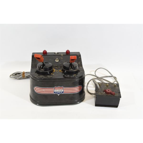 American Flyer Twin Power Controler
