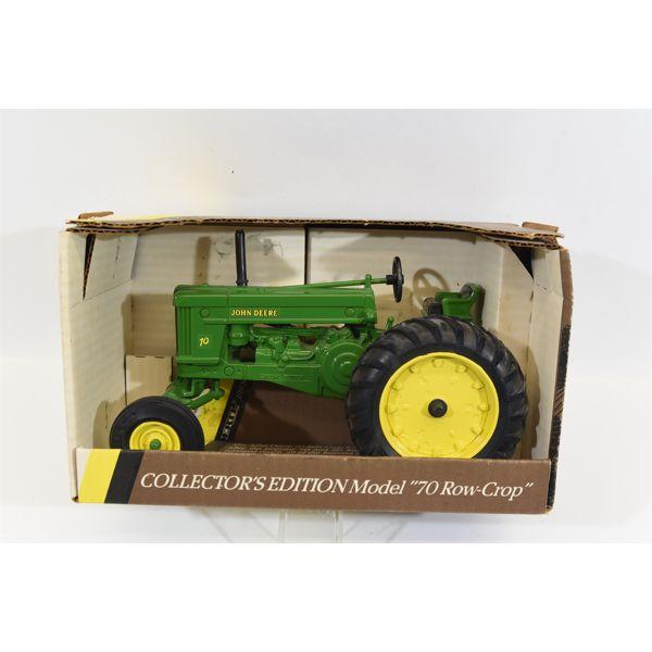 John Deere 1953 Model 70 Row-Crop Tractor With Wide Front End