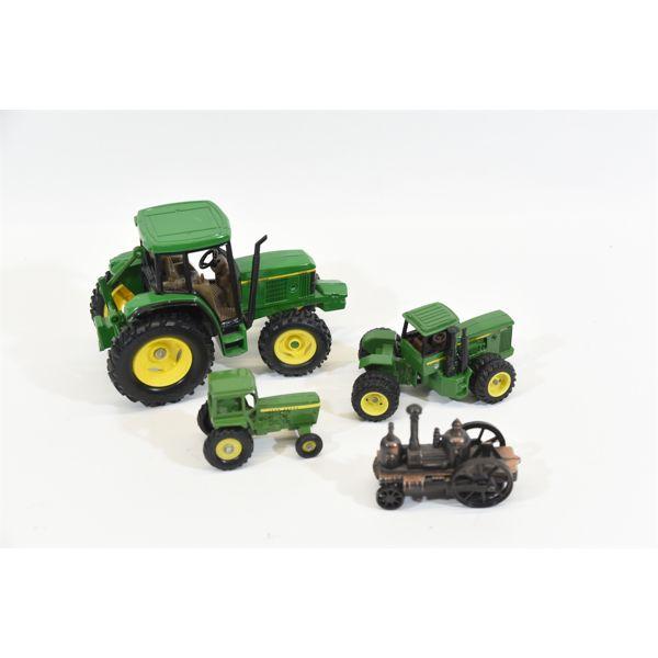 Box Lot Die-Cast Tractors