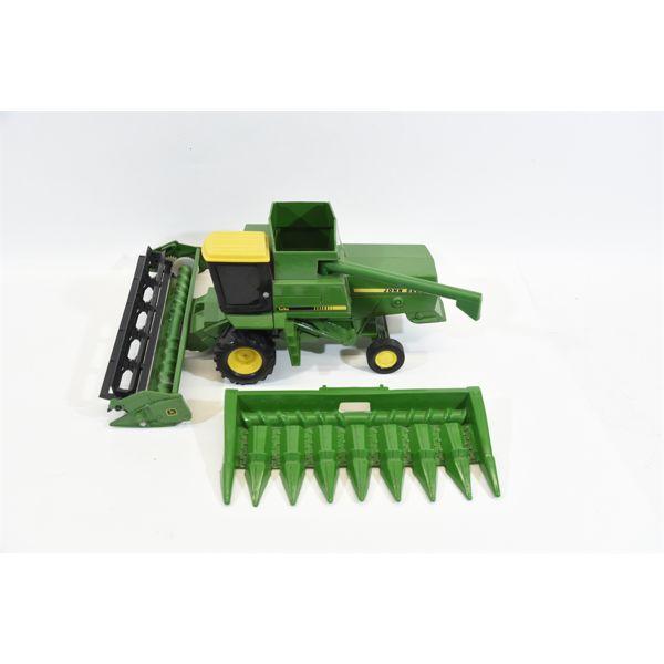 John Deere Turbo Combine w/ Corn Head & Grain Head