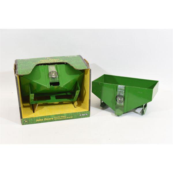 2 John Deere Gravity Wagons