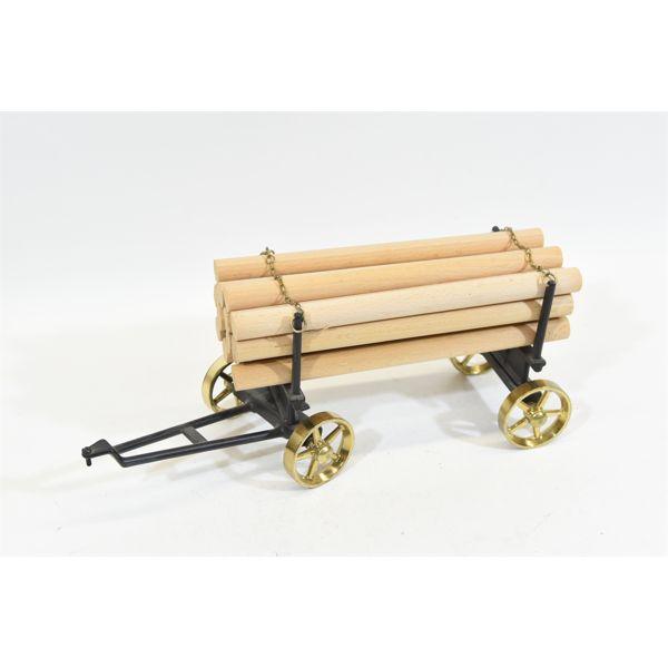 Wilesco A426 Black & Brass Lumber Wagon