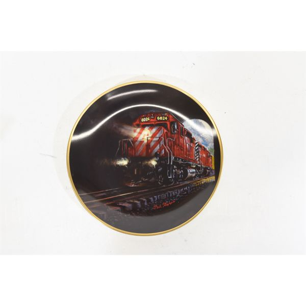 Two Plate Set Of Canadian Pacific Collector Plates BY Christian A. Xaras