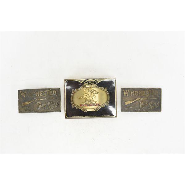 Box Lot Assorted Belt Buckles