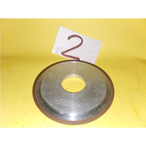 "Diamond Wheel 7"" x 1/4"" x 2"""