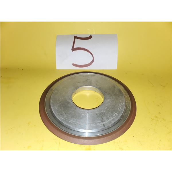 "Diamond Wheel 6"" x 1/4"" x 2"""
