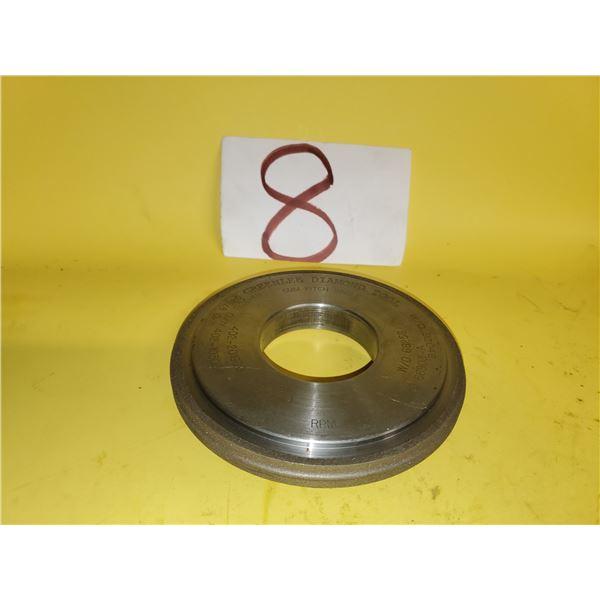 "GrenLee Diamond Wheel 5"" x 1/2"" x 2""   5mm Pitch"
