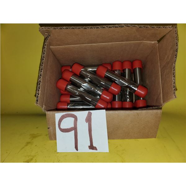 "Box of New Minicut International Left Hand End Mill 5/8"" 2fl. (20)- (can be used on reverse)"