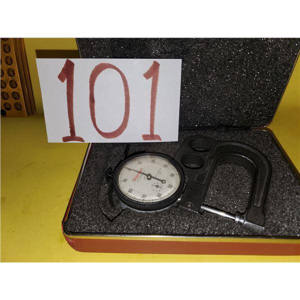 Starrett Thickness Gauge No. 1015B-441 Dial Indicator