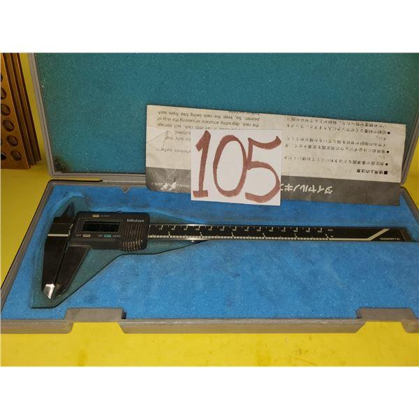 """Mitutoyo Digimatic Caliper 0-8"""" (tested)"""