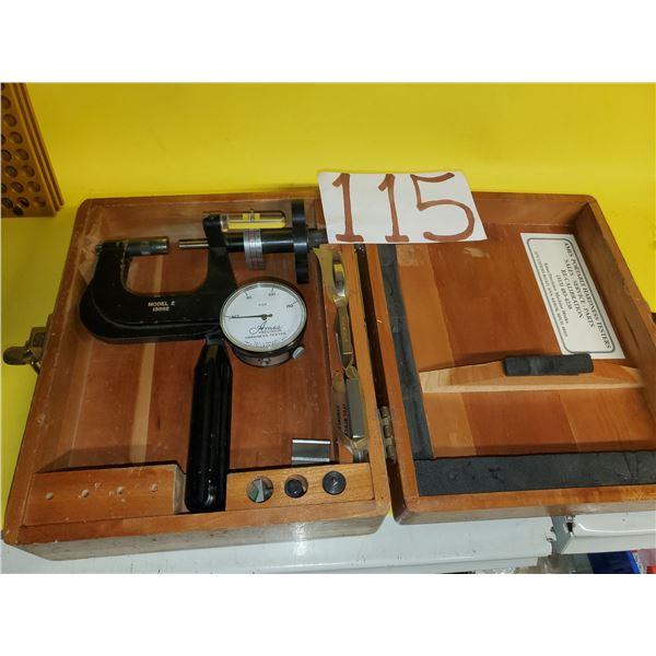 AMES portable Hardness Tester model 2