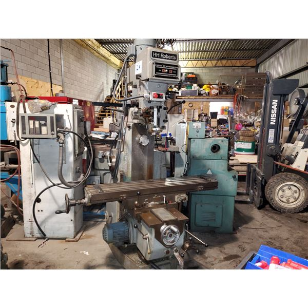 SAJO Base with TopWell Head Veritical/Horizontal  Milling Machine