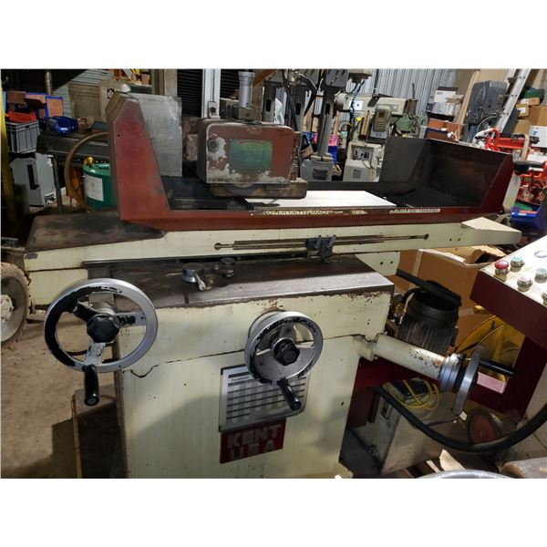 """KENT Surface Grinder with magnetic chuck 8"""" x 20"""""""