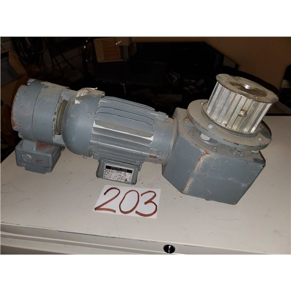 EBERHARD BAUER Electric Motor with gear box