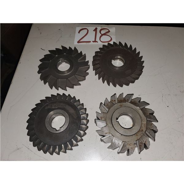 Lot of Assorted Milling Cutter 5""