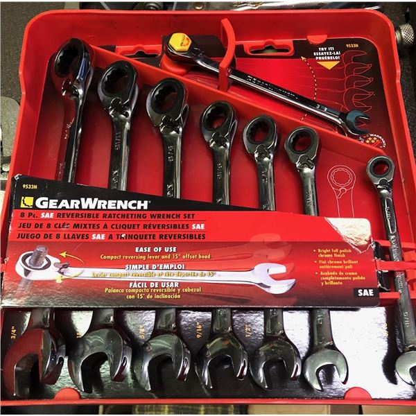 """3/4"""" ratcheting wrench set"""