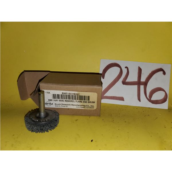 "Mandrel Flare End Brush 1""1/2"