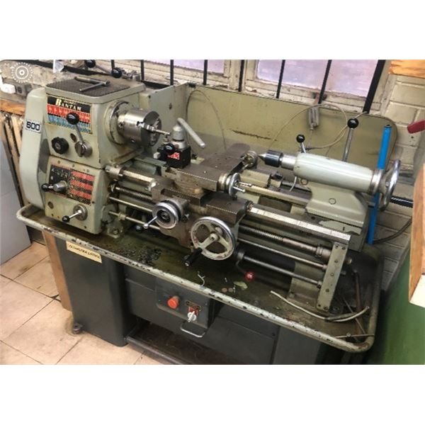 Colchester bantam Lathe (1600 rpm, 3 jaw, 4 jaw , steady rest, colllet chuck and collets, taper atta