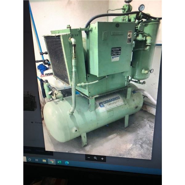 Sullair 25hp compressor (low hours)