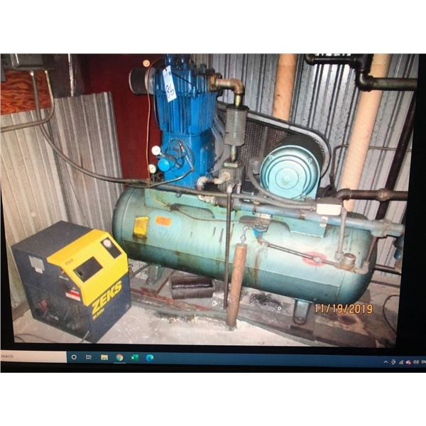 Quincy compressor and drier
