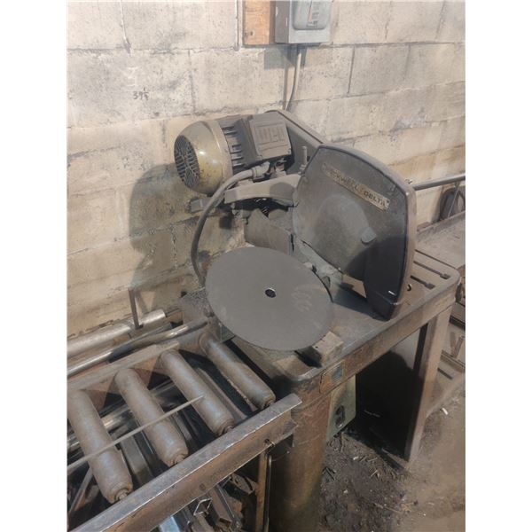 ROCKWELL / Delta Cut-Off saw with conveyor