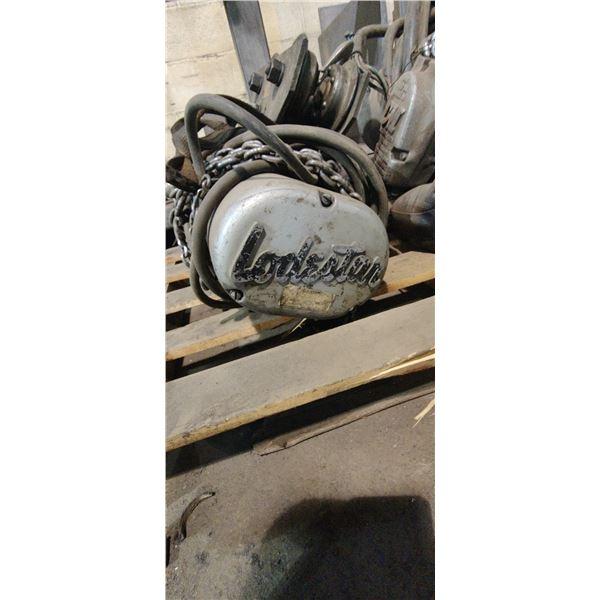 Lodestar Electric Hoist 1/2 Ton