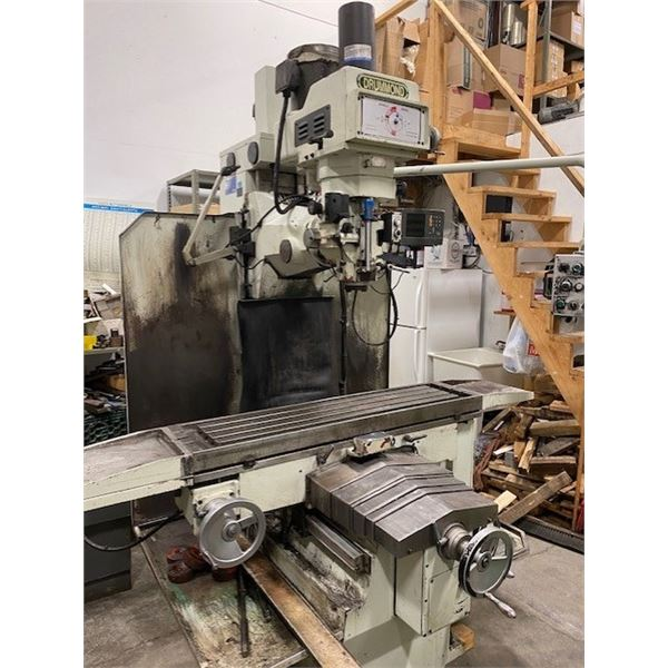 Drummond Milling Machine 575v with DRO
