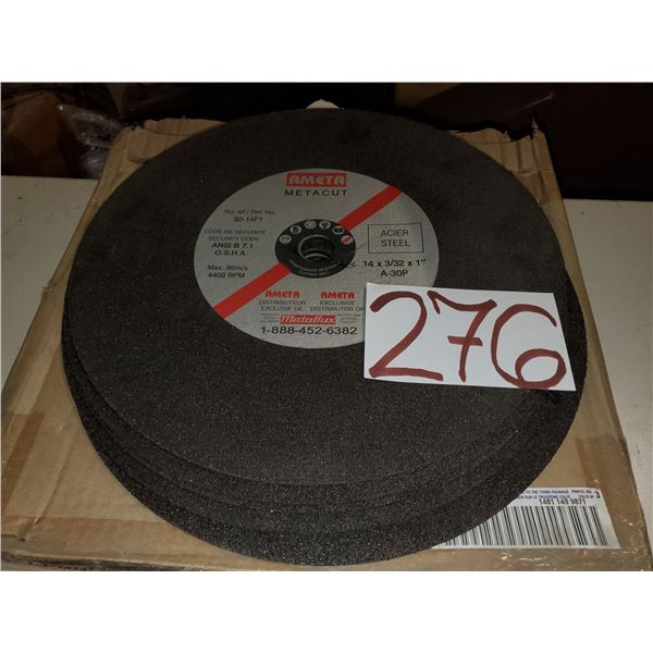 "Ameta Cut Off Wheel 14"" x 3/32"" x 1"""