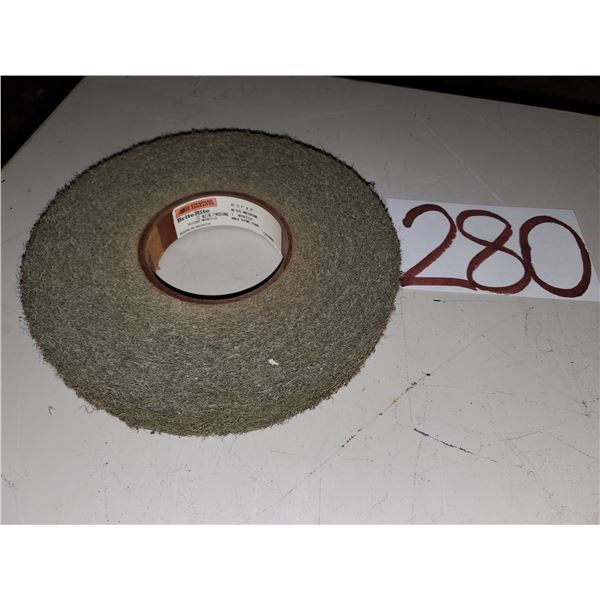 "Standard Abrasives BriteRite Scotch Brite Metal FinishingWheel 8"" x 1"" x  3"" Medium"
