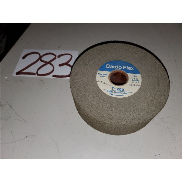 "Bardo Flex Wheel 6"" x 2"" x 1"" Fine Finish Scotch Brite"