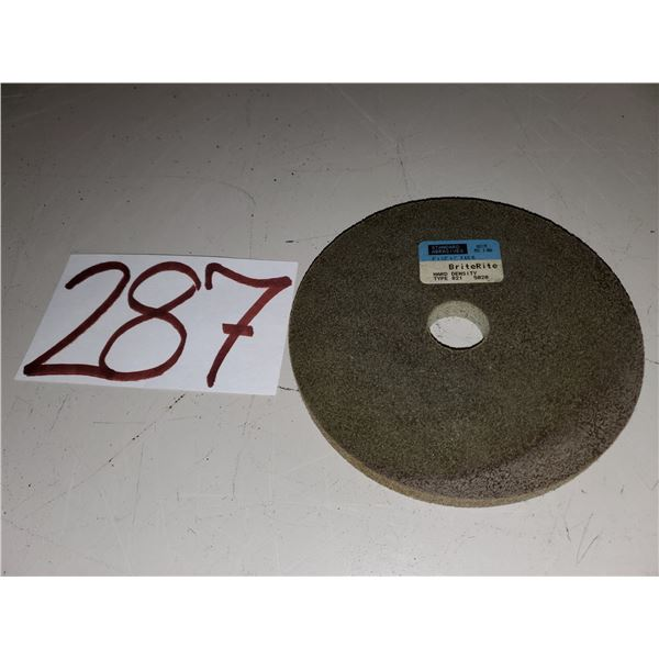 "Standard Abrasives BriteRite Hard Density Wheel 6"" x 1/2"" x 1"""