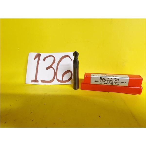 """New Minicut Carbide Composite Drill .4375"""" (7/16"""")"""