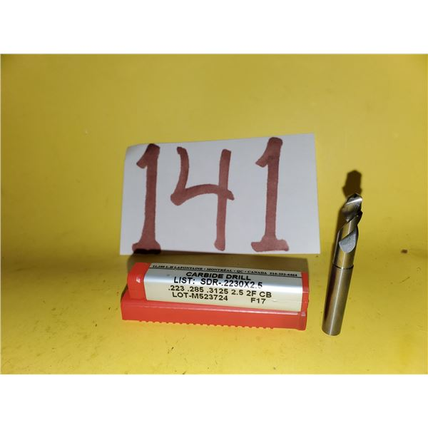 "New Minicut Carbide Step Drill .226"" to .284"""
