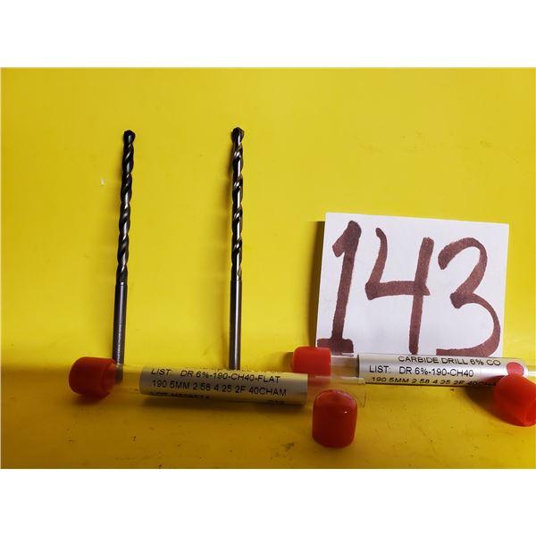 New Minicut Carbide Drill 5mm