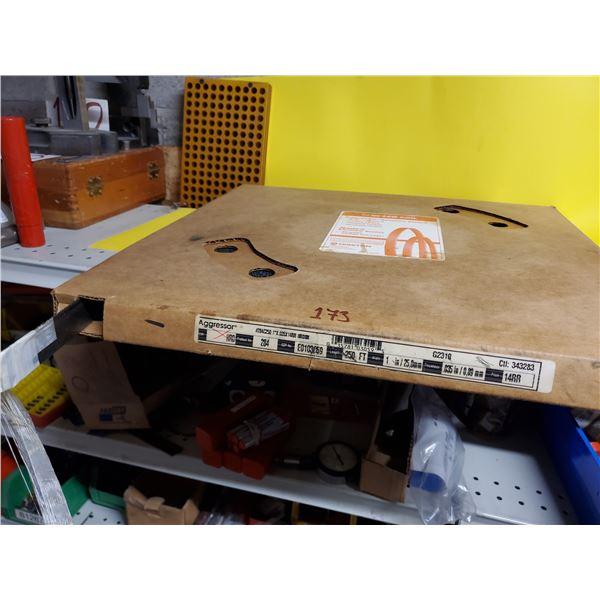 "Aggressor BandSaw Coil 1"" x .35"" x 14RR  250FT"