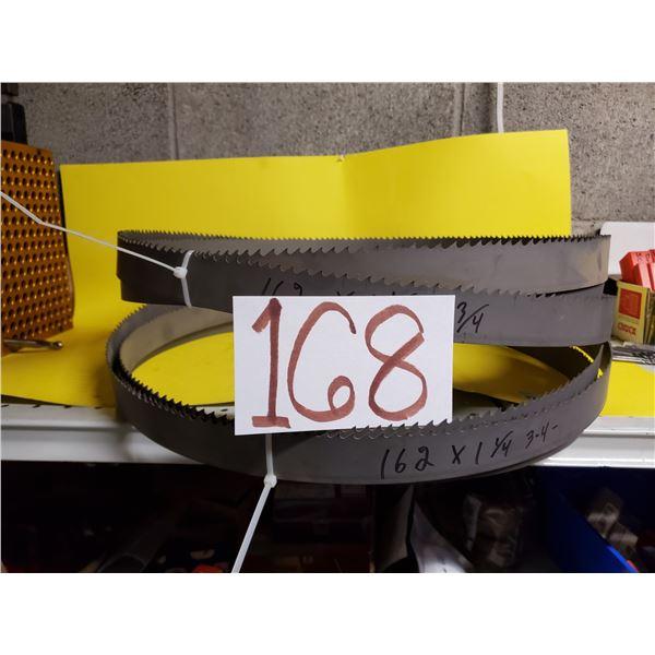 "BandSaw Blades 162"" x 1""1/4 (3-4TPI)"