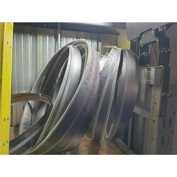 """Lot of Assorted BandSaw Blade 1""""1/4 - 1""""1/2- 1""""3/4"""