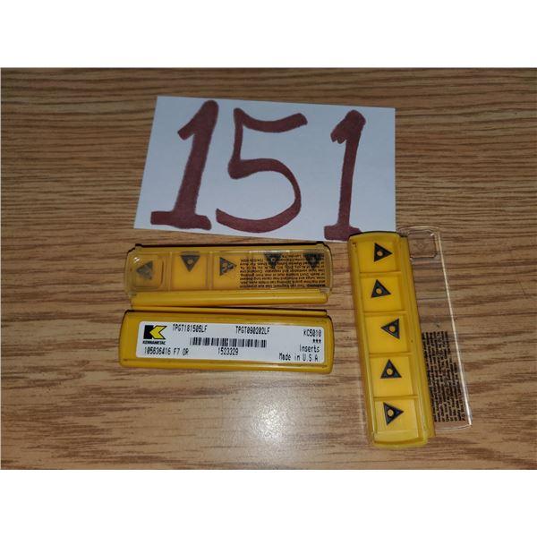 Kennametal Insert TPGT181505LF