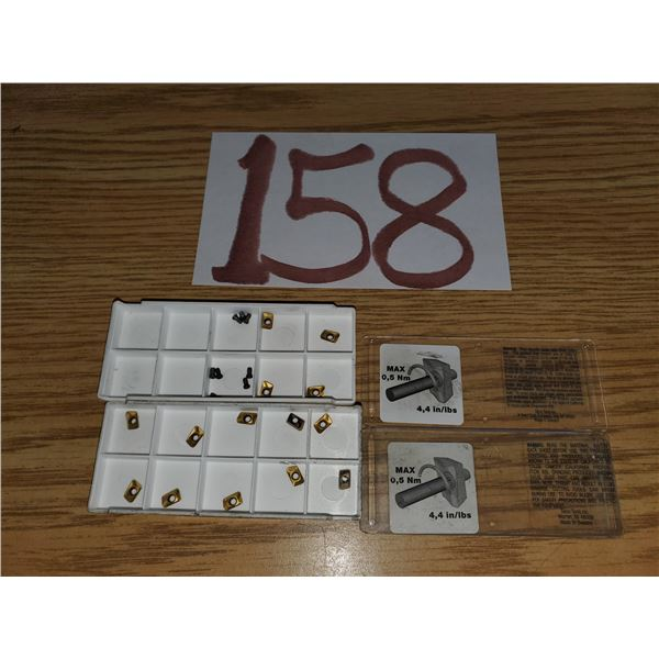 Lot of assorted Inserts and Screws