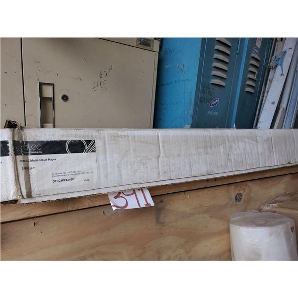 "dTec AQ Matte injet Paper 42"" x 150"