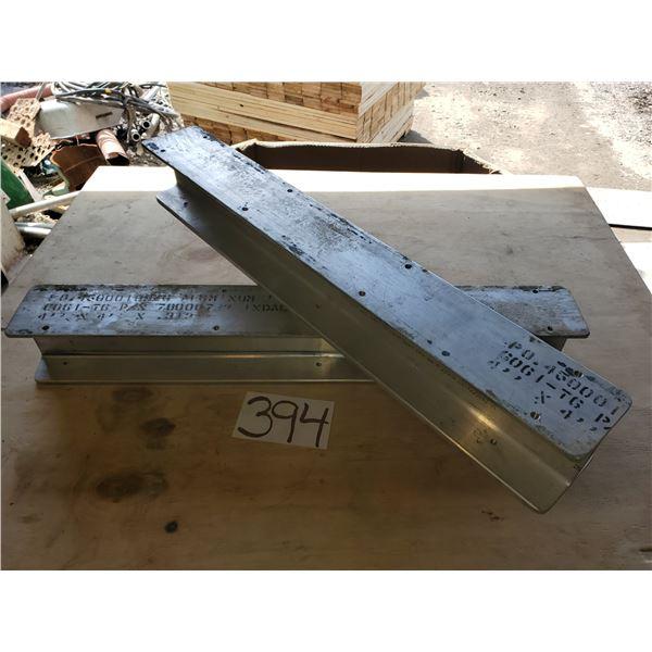 """Aluminum H Beam 30"""" x 4"""""""