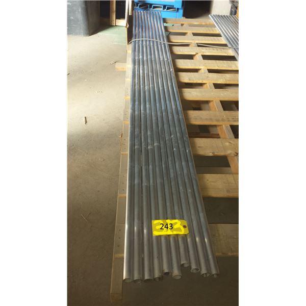 Aluminum tube 10'