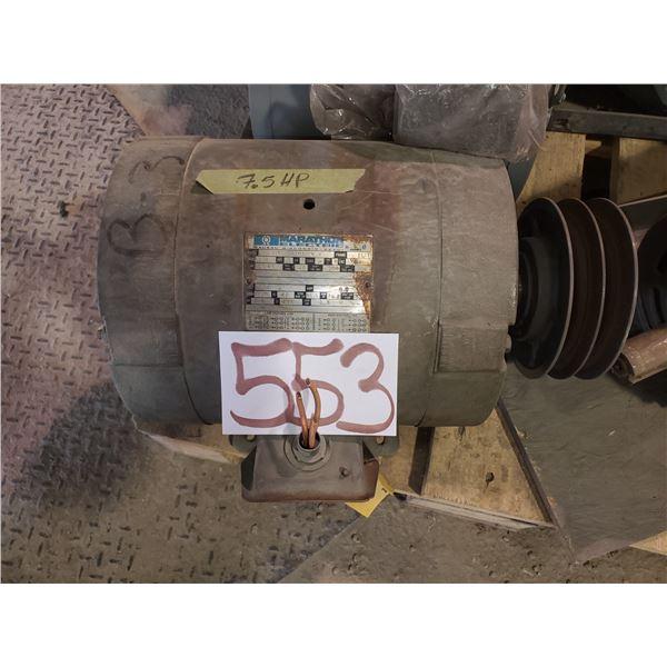 Marathon Electric Motor 7.5hp